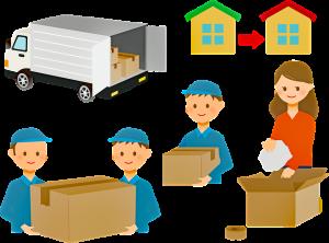 déménageurs cartons